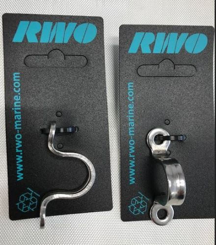 RWO Stainless Deck Eye Each R2794 38mm